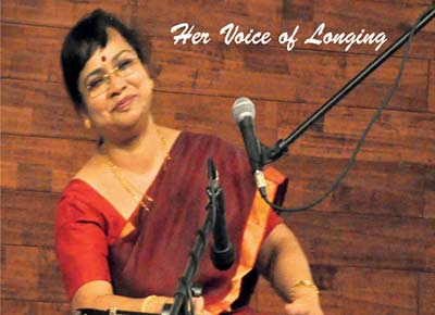 Her Voice of Longing - Rajyasree Ghosh